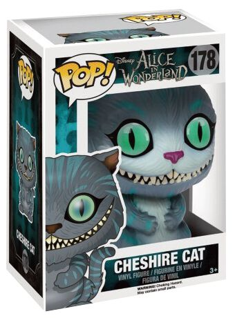 Image of   Alice i Eventyrland Cheshire Cat Vinyl Figure 178 Samlefigur Standard