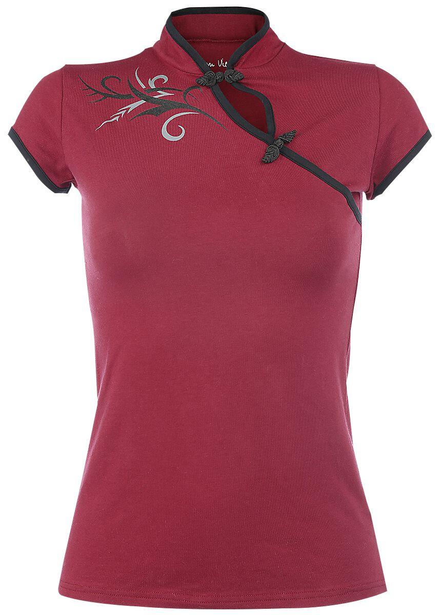 Image of   Fashion Victim Tribal Fantasy Girlie trøje rød