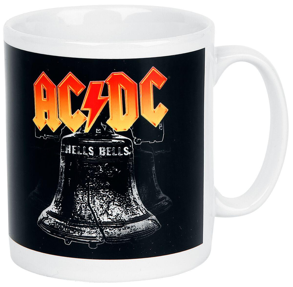Image of   AC/DC Hells Bells Krus hvid