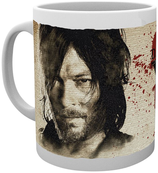 Image of   The Walking Dead Daryl Dixon Wants You To Survive Krus Standard