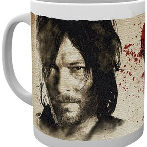 The Walking Dead Daryl Dixon Wants You To Survive Mug blanc