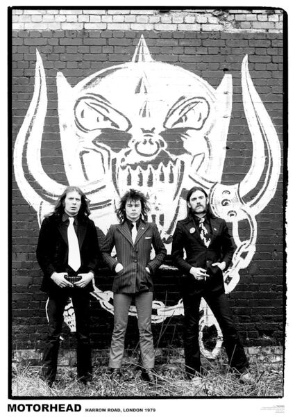 Image of   Motörhead Harrow Road Plakat Standard