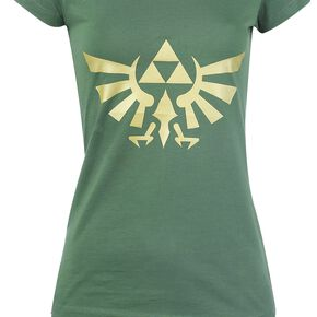 The Legend Of Zelda Hyrule - Triforce Logo Pyjama vert