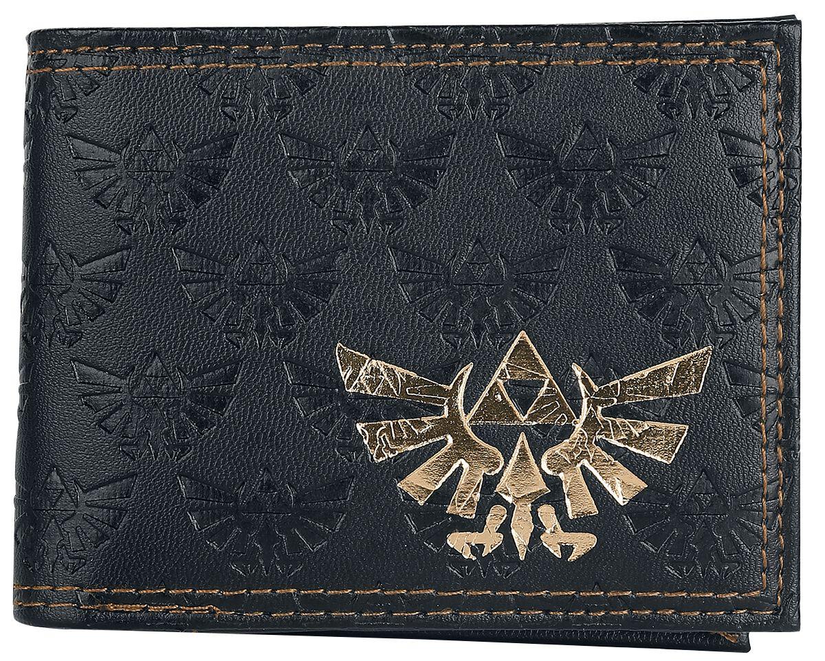 Image of   The Legend Of Zelda Gold Logo Skyward Sword Pung sort