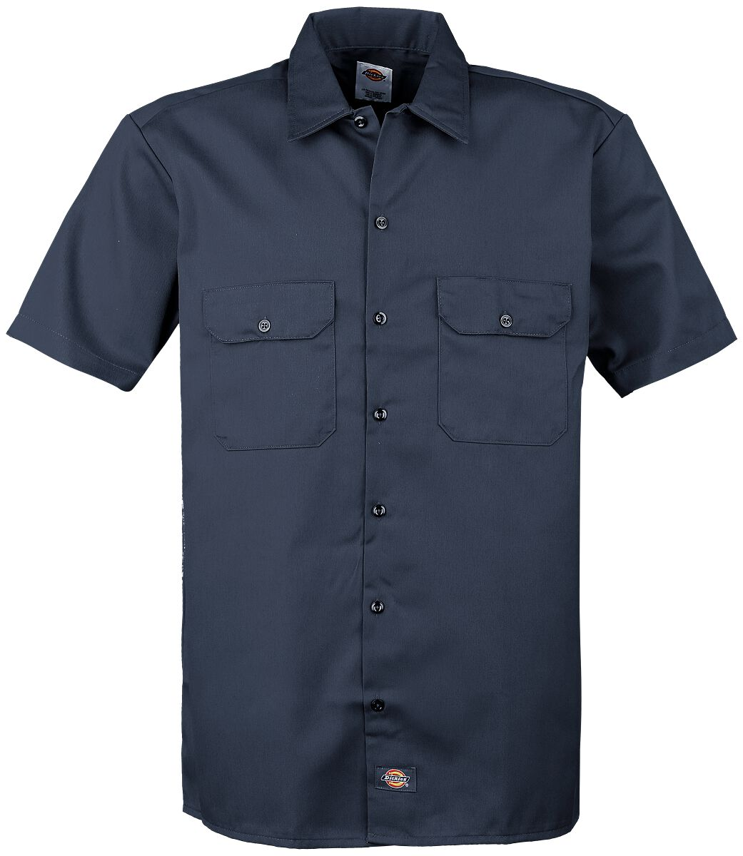 Image of   Dickies Short Sleeve Work Shirt Skjorte navy