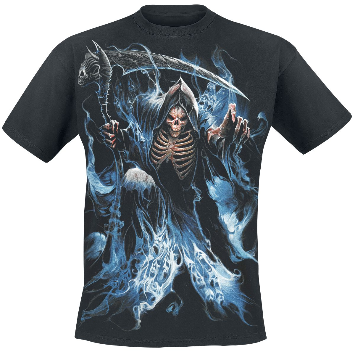 Image of   Spiral Ghost Reaper T-Shirt sort