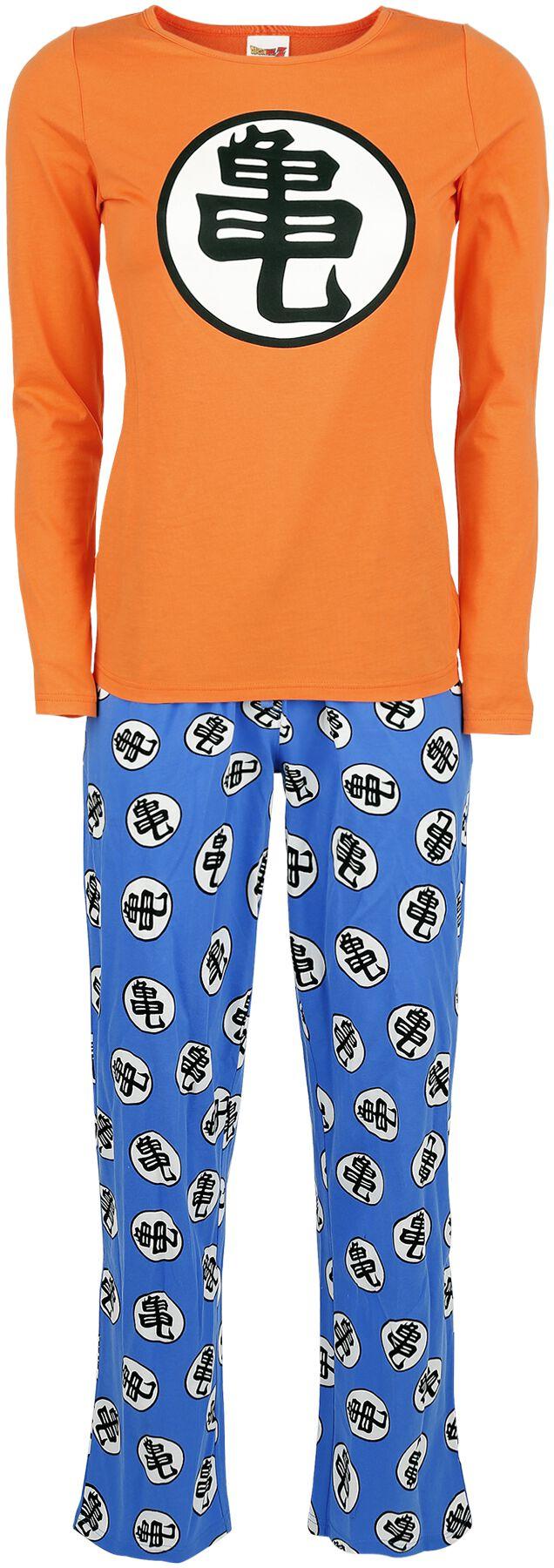 Merch dla Fanów - Do sypialni - Pidżama Dragon Ball Z - Kame Pidżama pomarańczowy/niebieski - 327292