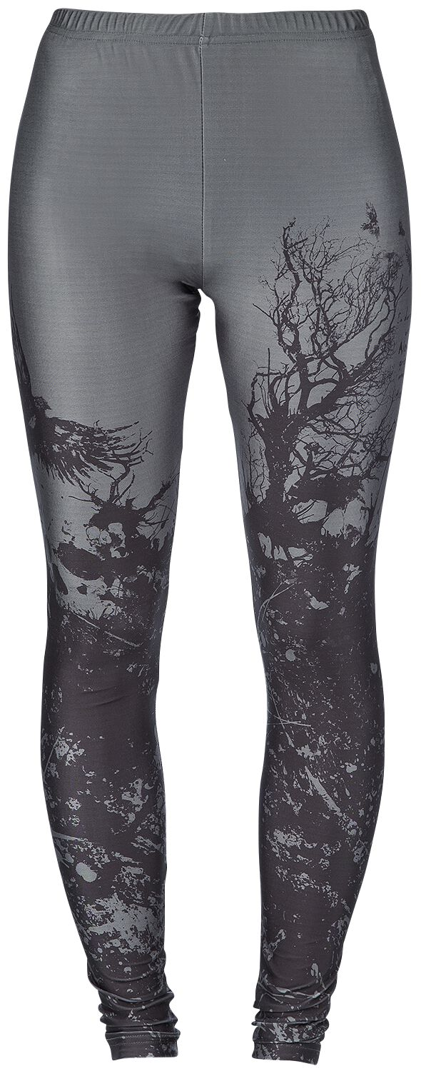 Image of   Black Premium by EMP Built For Comfort Leggings grå-sort