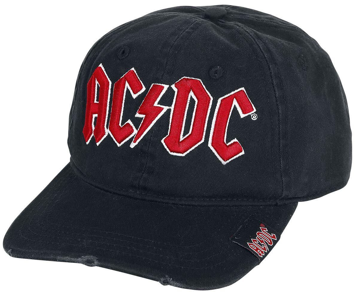 Image of AC/DC Logo Baseball-Cap schwarz