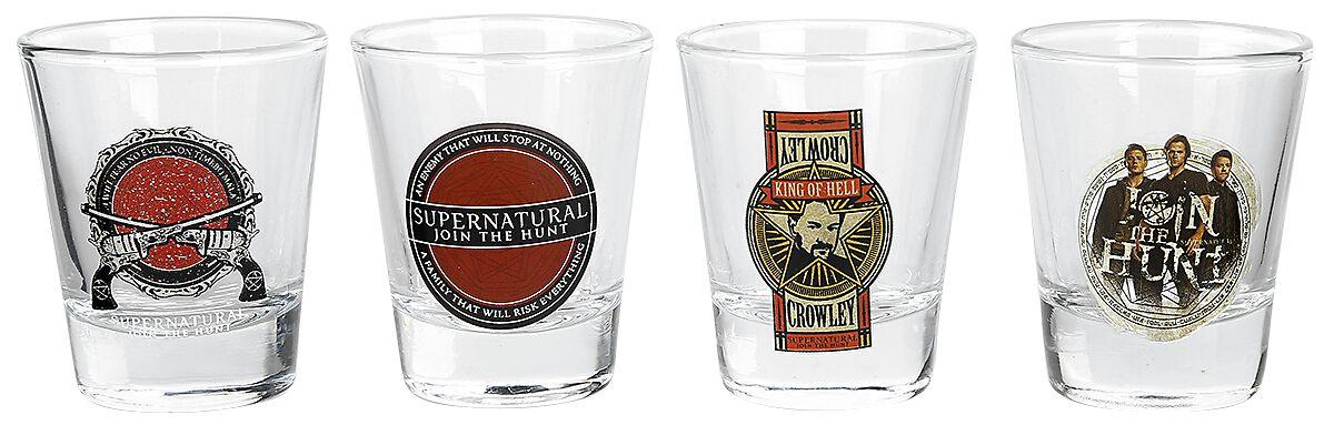 Image of   Supernatural Mix Shotglas, sæt Standard