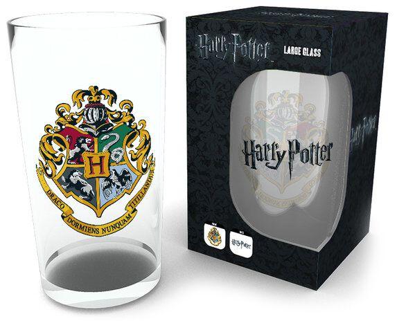 Image of   Harry Potter Crest Ølglas Standard