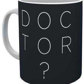 Doctor Who Doctor Who Type Mug blanc