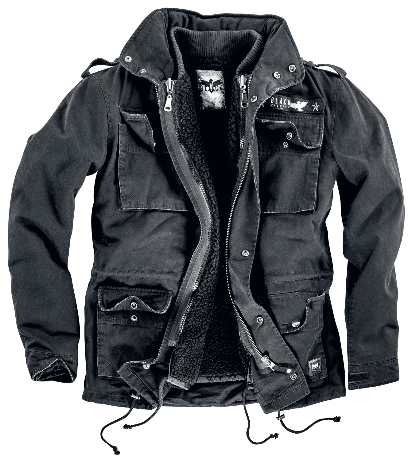 Image of   Black Premium by EMP Army Field Jacket Jakke sort