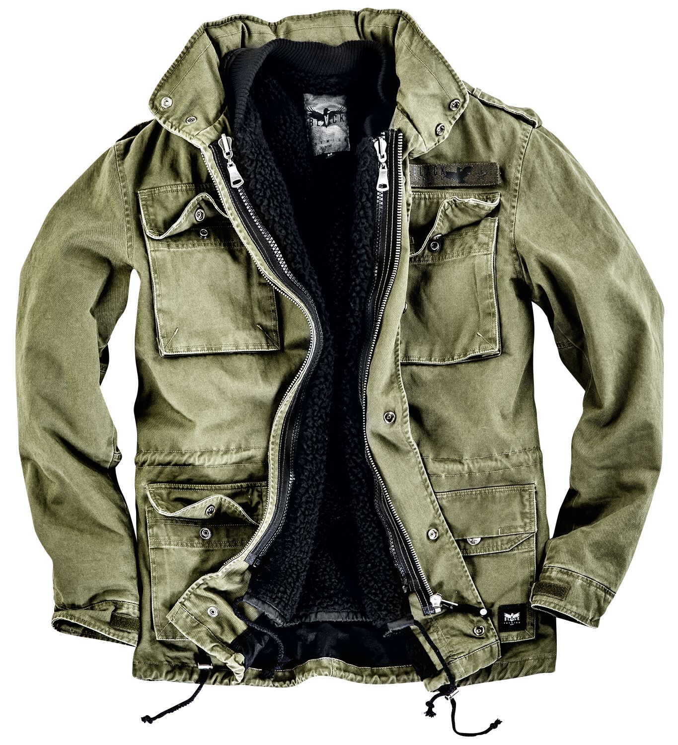 Image of   Black Premium by EMP Army Field Jacket Jakke olivengrøn