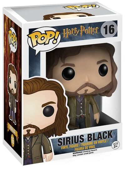 Harry Potter Figurine En Vinyle Sirius Black 16 Figurine de collection Standard
