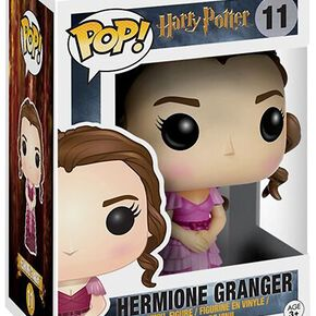 Figurine Pop! Hermione Robe Bal de Noël Harry Potter