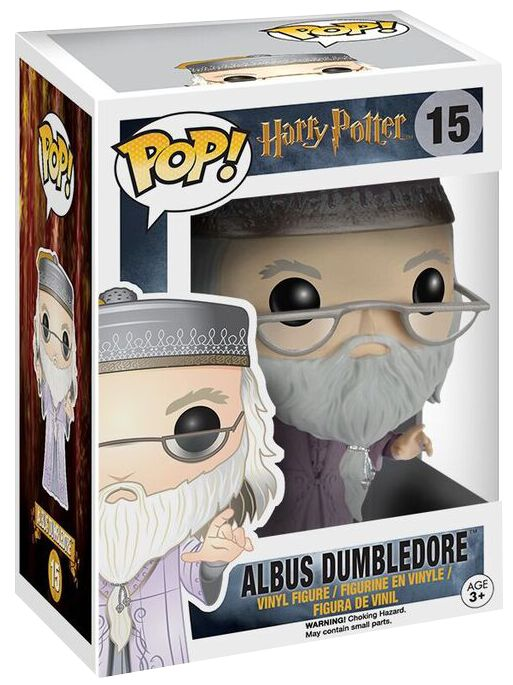 Image of   Harry Potter Dumbledore with Magic Wand - vinylfigur 15 Samlefigur Standard
