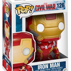 Figurine Captain America Marvel Civil War Funko Pop!