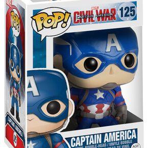 Captain America Figurine Bobblehead Captain America 125 Figurine de collection Standard