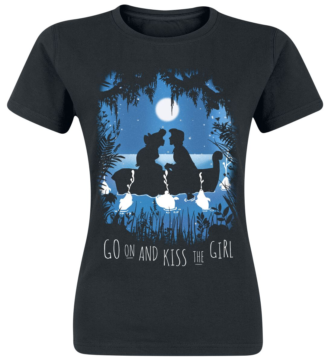 Ariel - Mała Syrenka Boat Trip Koszulka damska czarny