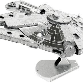 Maquette Métal 3D Star Wars Faucon Millenium