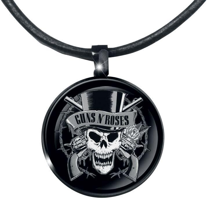 Image of   Guns N' Roses Guns Head Halskæde Standard