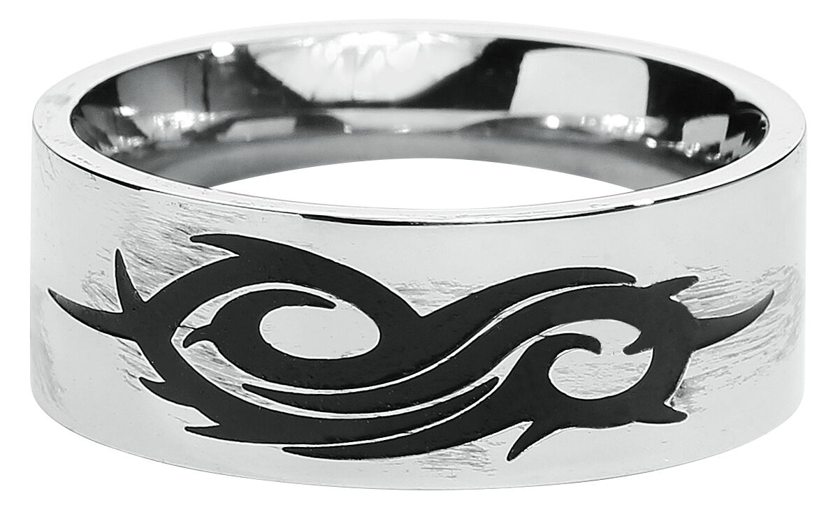 Image of   Slipknot Black Logo Ring Standard