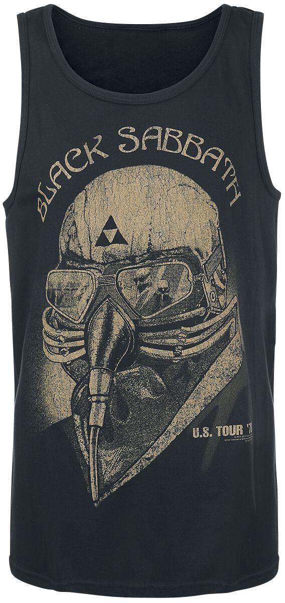 Image of   Black Sabbath U.S. Tour '78 Tanktop sort