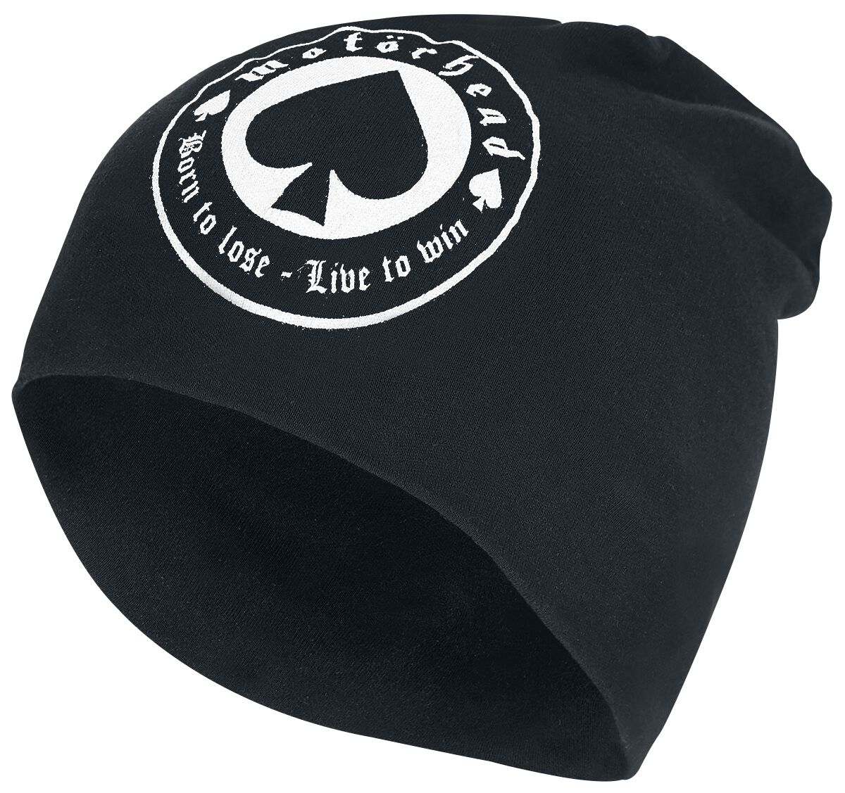 Image of   Motörhead Born To Lose - Jersey Beanie Beanie sort