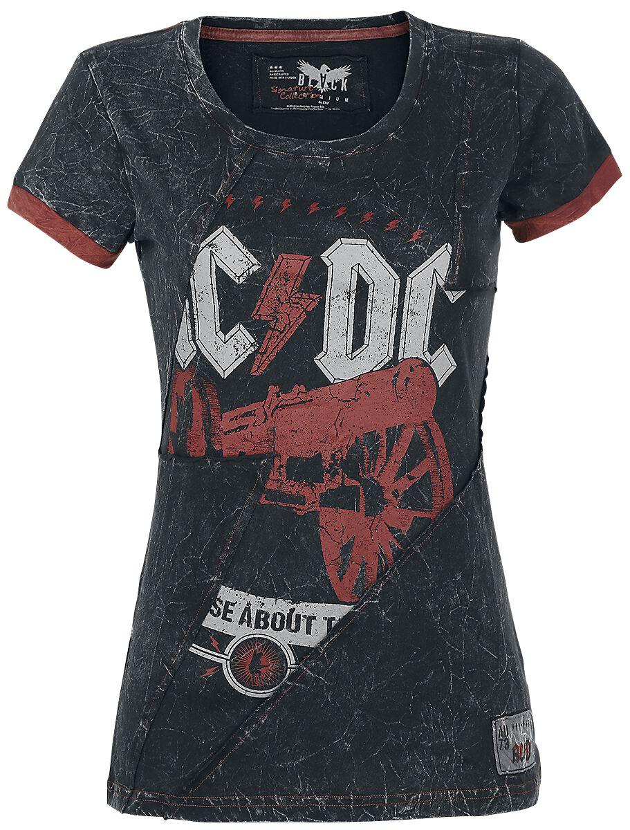 Image of   AC/DC EMP Signature Collection Girlie trøje mørk grå