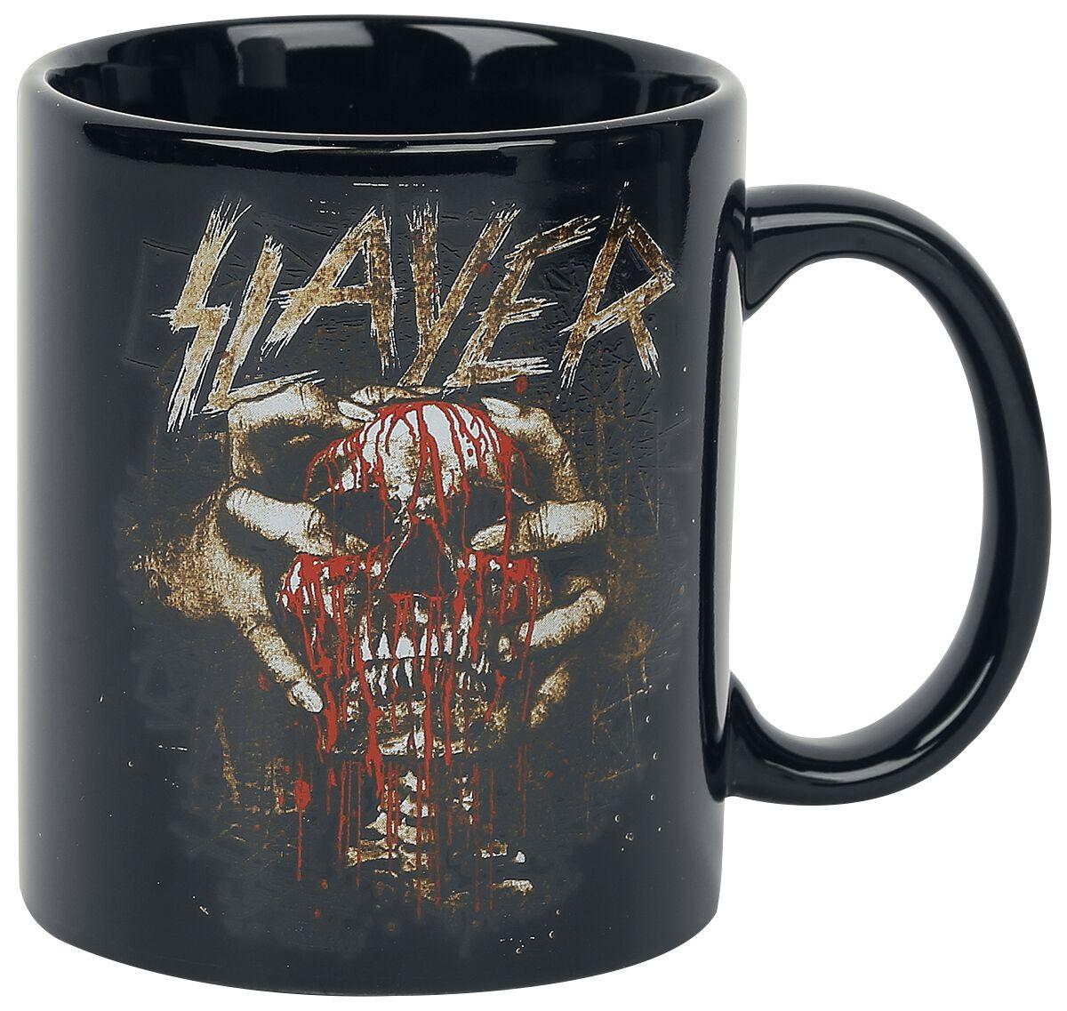 Image of   Slayer Skull Clench Krus sort