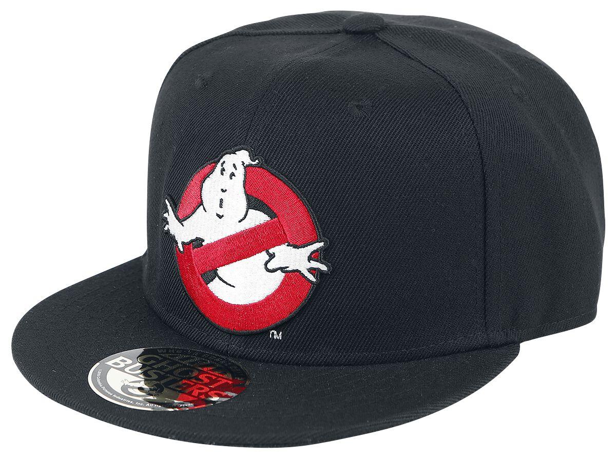 Merch dla Fanów - Czapki i Kapelusze - Czapka Snapback Ghostbusters Ghost Logo Czapka Snapback czarny/biały/czerwony - 328731