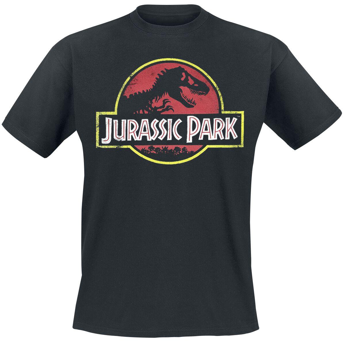 Image of   Jurassic Park Classic Logo T-Shirt sort