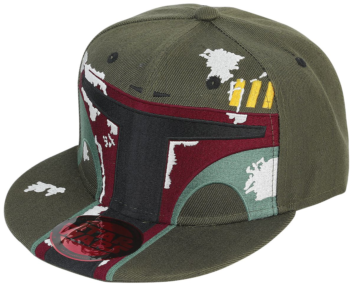 Image of   Star Wars Boba Fett Snapback Cap grøn