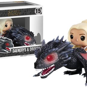 Figurine Pop! Daenerys sur Drogon - Game of Thrones
