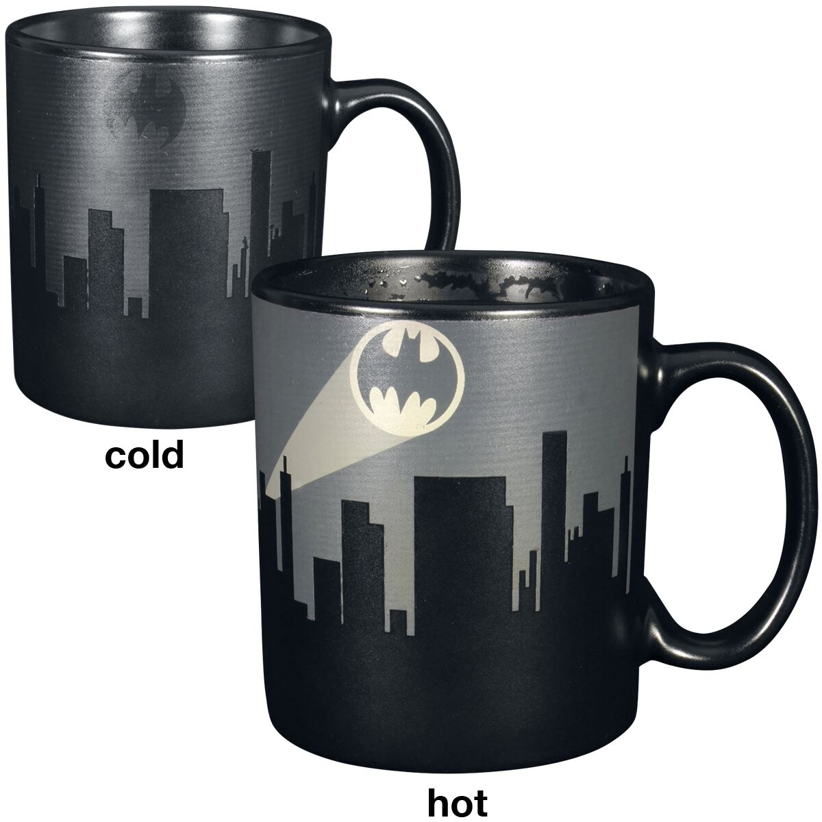 Image of   Batman Heat Change Mug Krus sort
