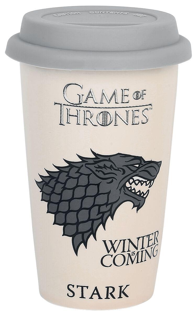 Game Of Thrones House Stark Kaffee-Becher beige