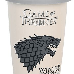Game Of Thrones Maison Stark Mug isotherme beige