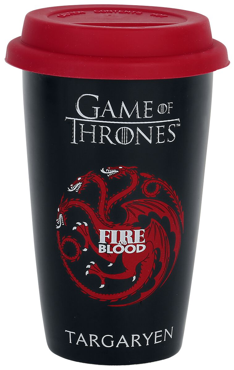 Game Of Thrones House Targaryen Kaffee-Becher S...