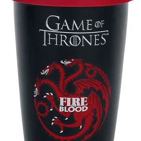 Game Of Thrones Maison Targaryen Mug isotherme noir