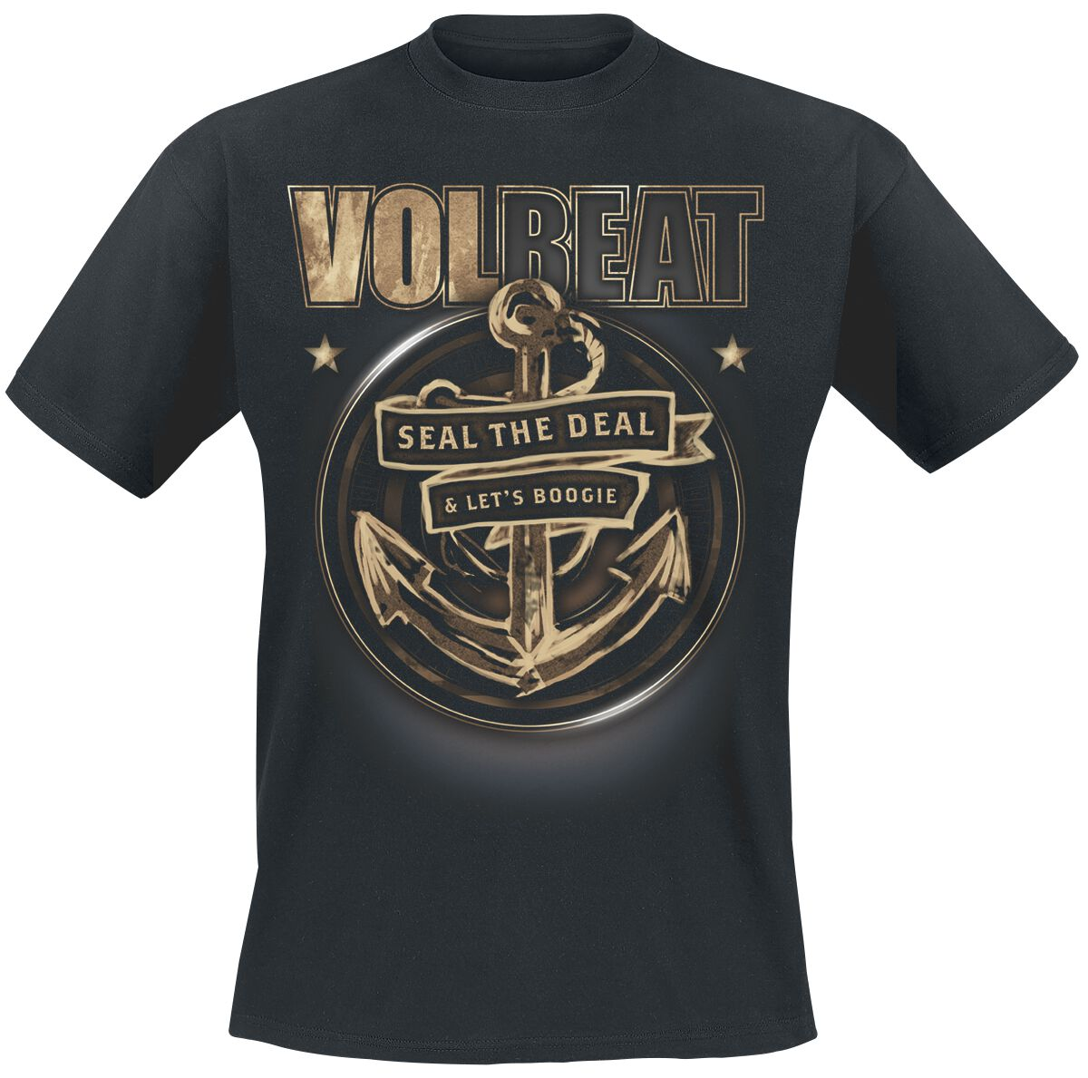 Image of   Volbeat Anchor T-Shirt sort