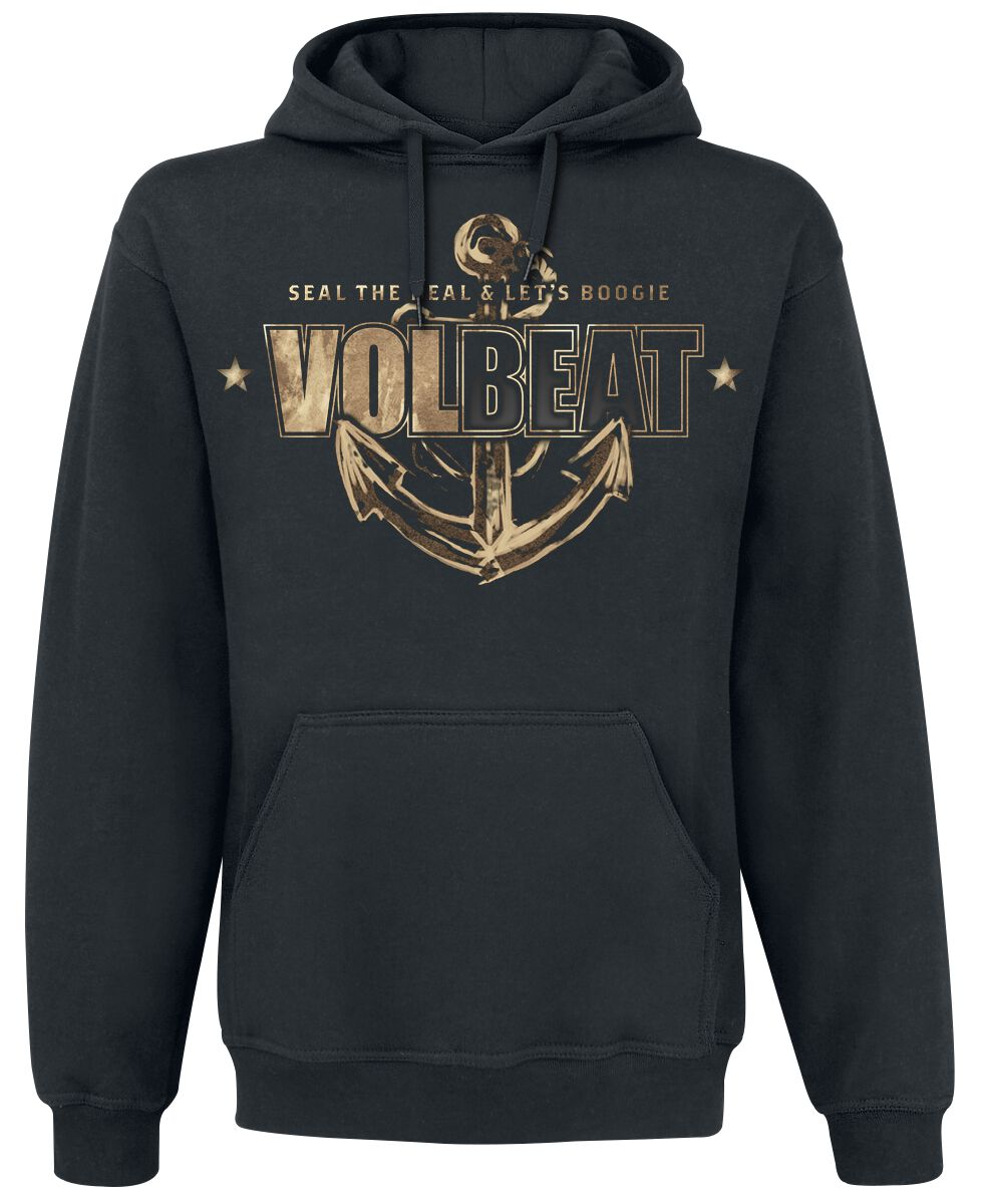 Image of   Volbeat Anchor Hættetrøje sort