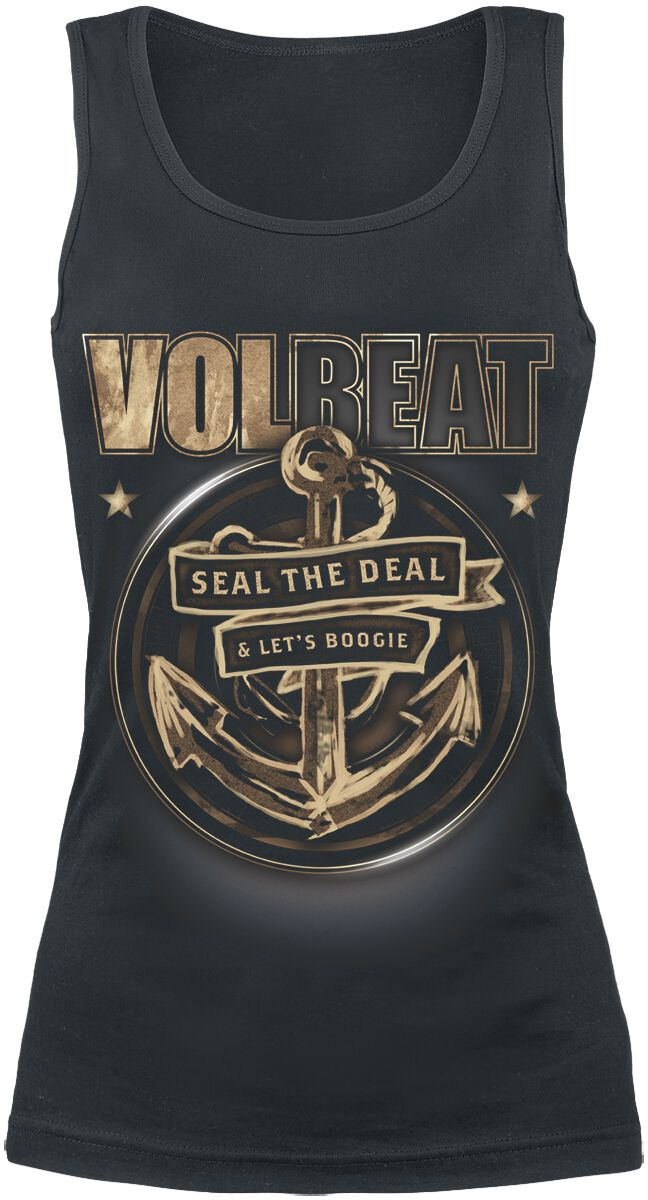 Image of   Volbeat Anchor Girlie top sort