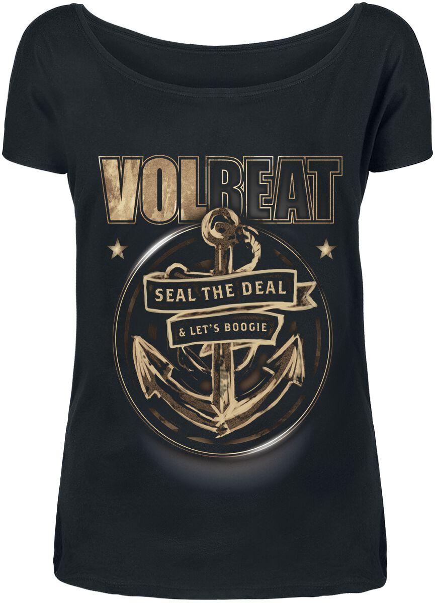 Image of   Volbeat Anchor Girlie trøje sort