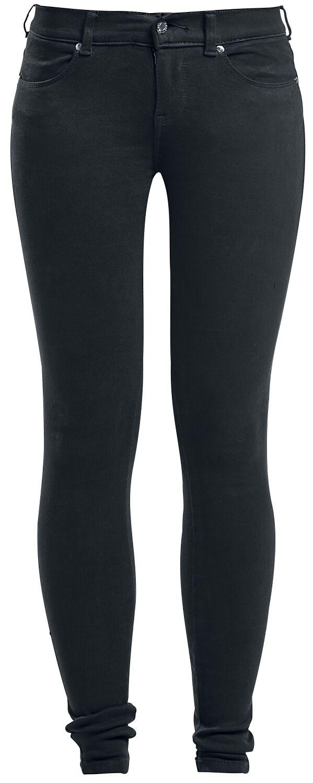 Marki - Spodnie długie - Jeansy damskie Dr. Denim Dixy Jeansy damskie czarny - 329624