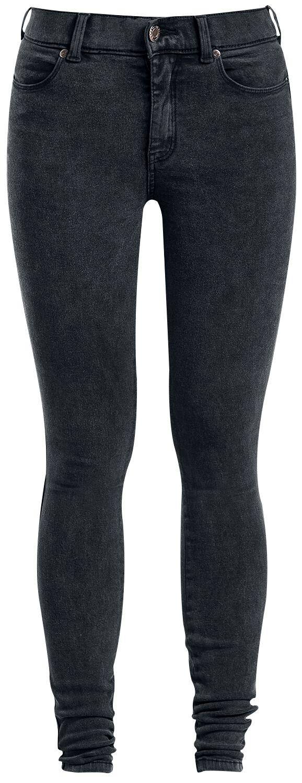 Marki - Spodnie długie - Jeansy damskie Dr. Denim Lexy Jeansy damskie ciemnoszary - 329628