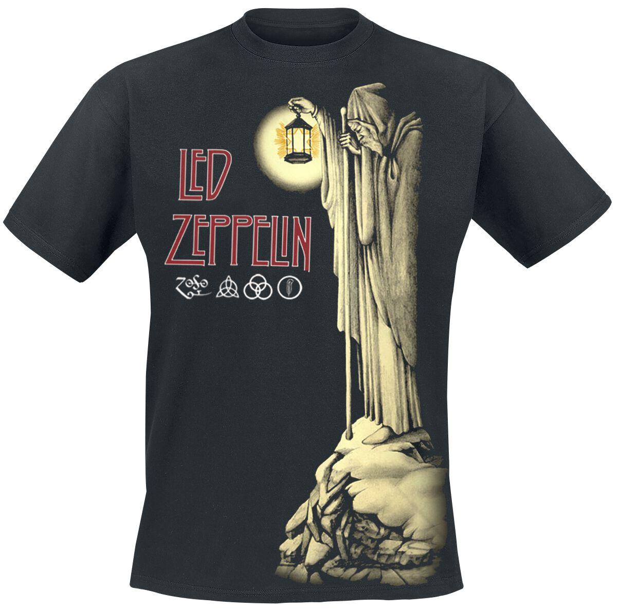 Led Zeppelin Hermit T-Shirt schwarz