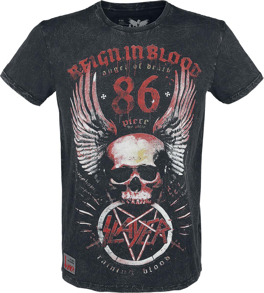 Image of   Slayer EMP Signature Collection T-Shirt mørk grå