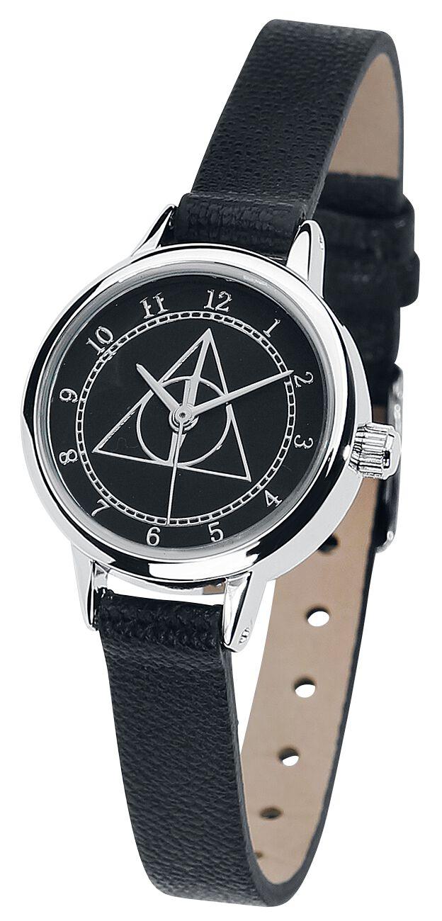 Uhren für Frauen - Harry Potter Heiligtümer des Todes Armbanduhr schwarz  - Onlineshop EMP