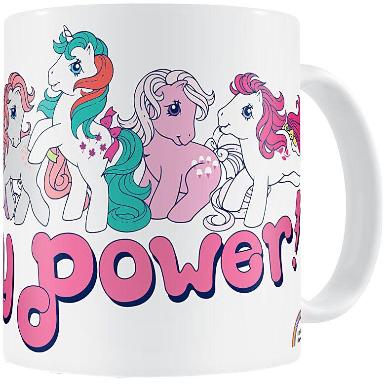 My Little Pony Pony Power Tasse weiß